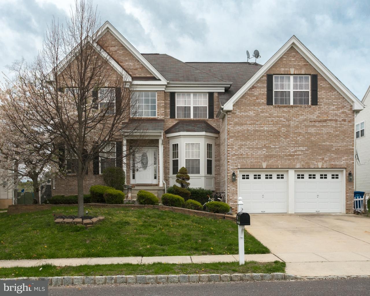 Maison unifamiliale pour l Vente à 43 MEADOW RUN Road Bordentown, New Jersey 08505 États-Unis