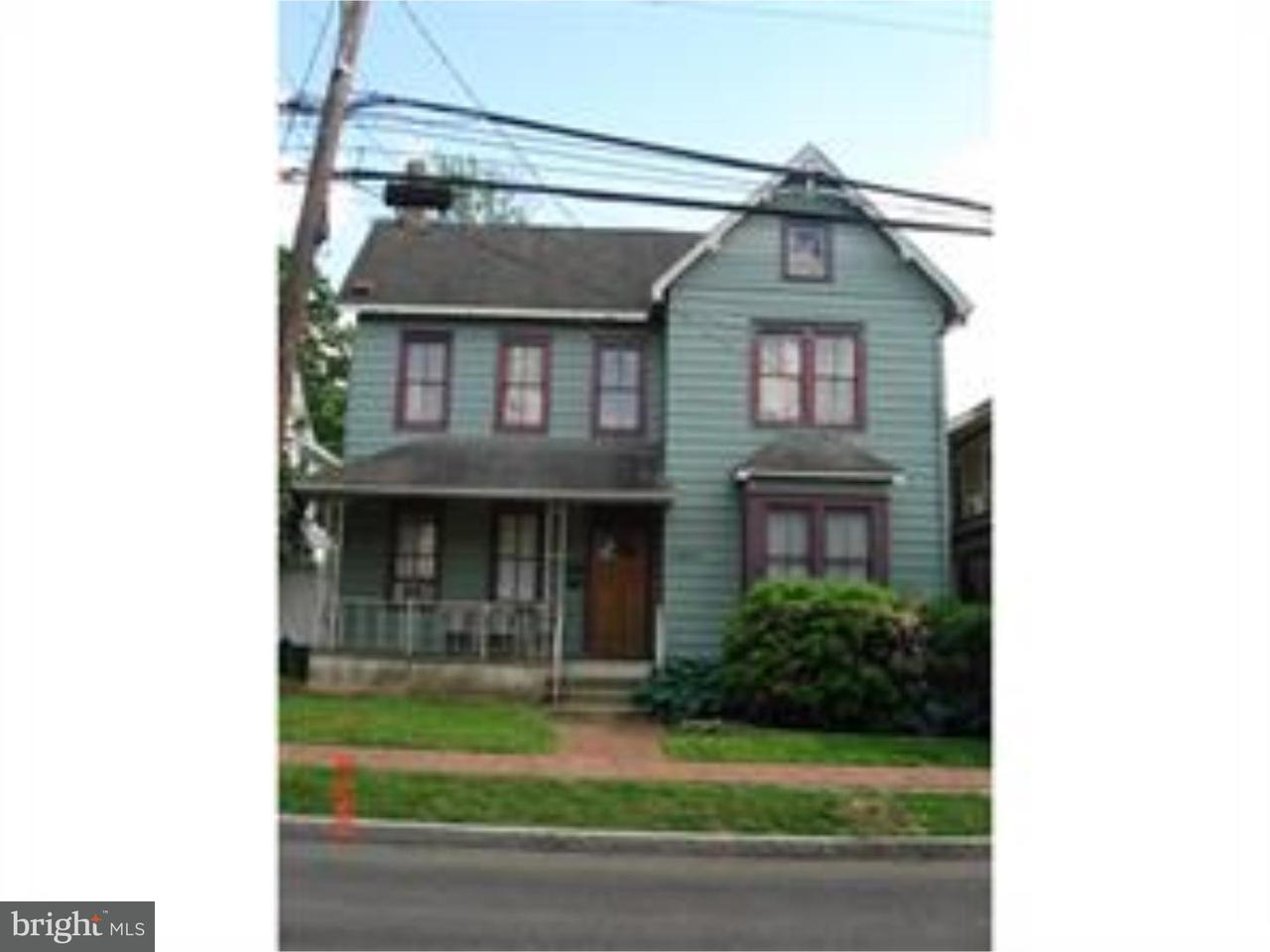 Single Family Home for Rent at 251 STOCKTON ST #APT A Hightstown, New Jersey 08520 United StatesMunicipality: Hightstown Borough