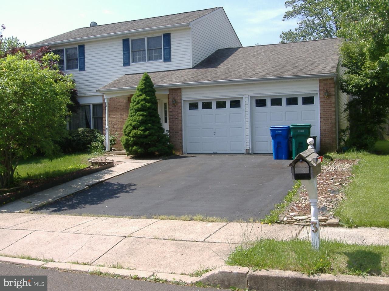 独户住宅 为 销售 在 3 DOVE Circle Fairless Hills, 宾夕法尼亚州 19030 美国