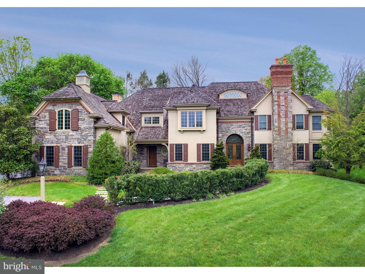Single Family Home for Sale at 654 BROOKE Road Wayne, Pennsylvania 19087 United States