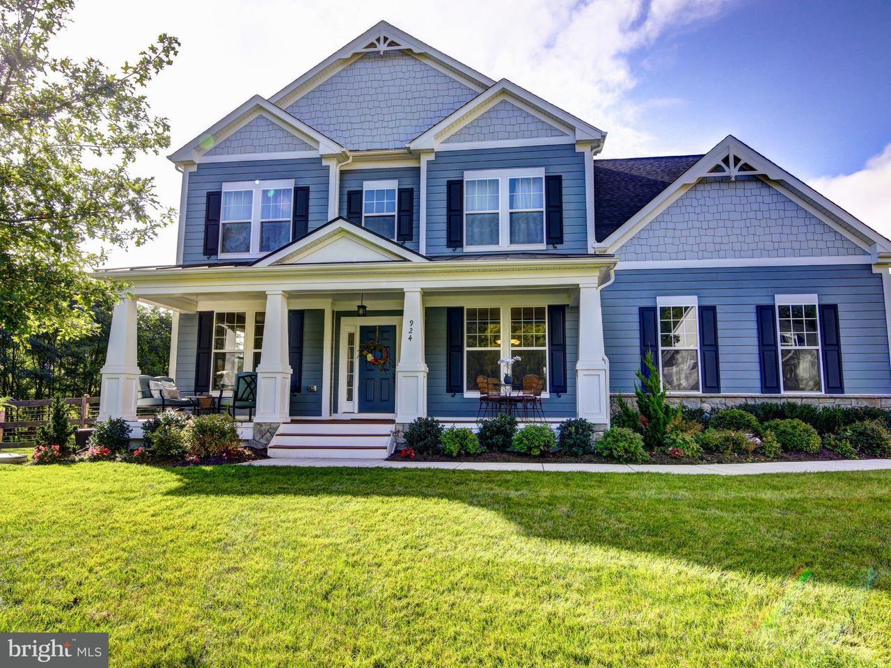 獨棟家庭住宅 為 出售 在 924 QUEENSCLIFF Court 924 QUEENSCLIFF Court Purcellville, 弗吉尼亞州 20132 美國