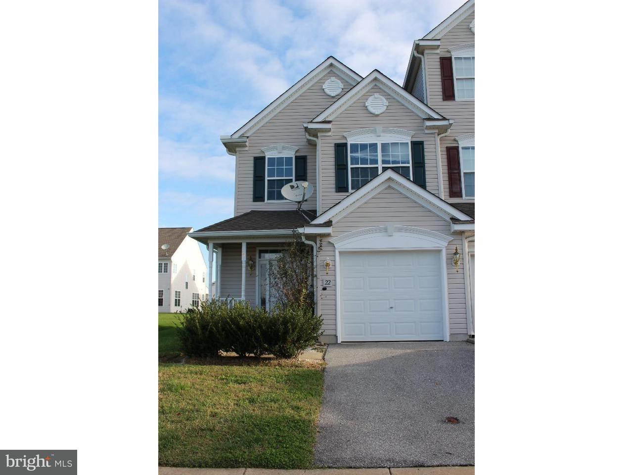 联栋屋 为 销售 在 22 HARROWGATE Drive Smyrna, 特拉华州 19977 美国