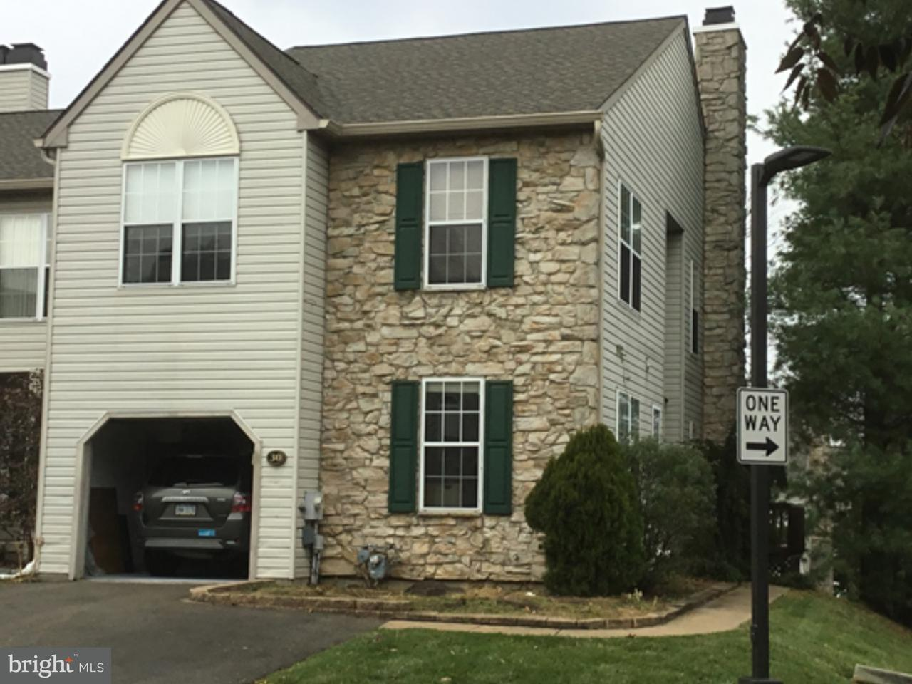 Townhouse for Rent at 30 ESSEX Court Eagleville, Pennsylvania 19403 United States