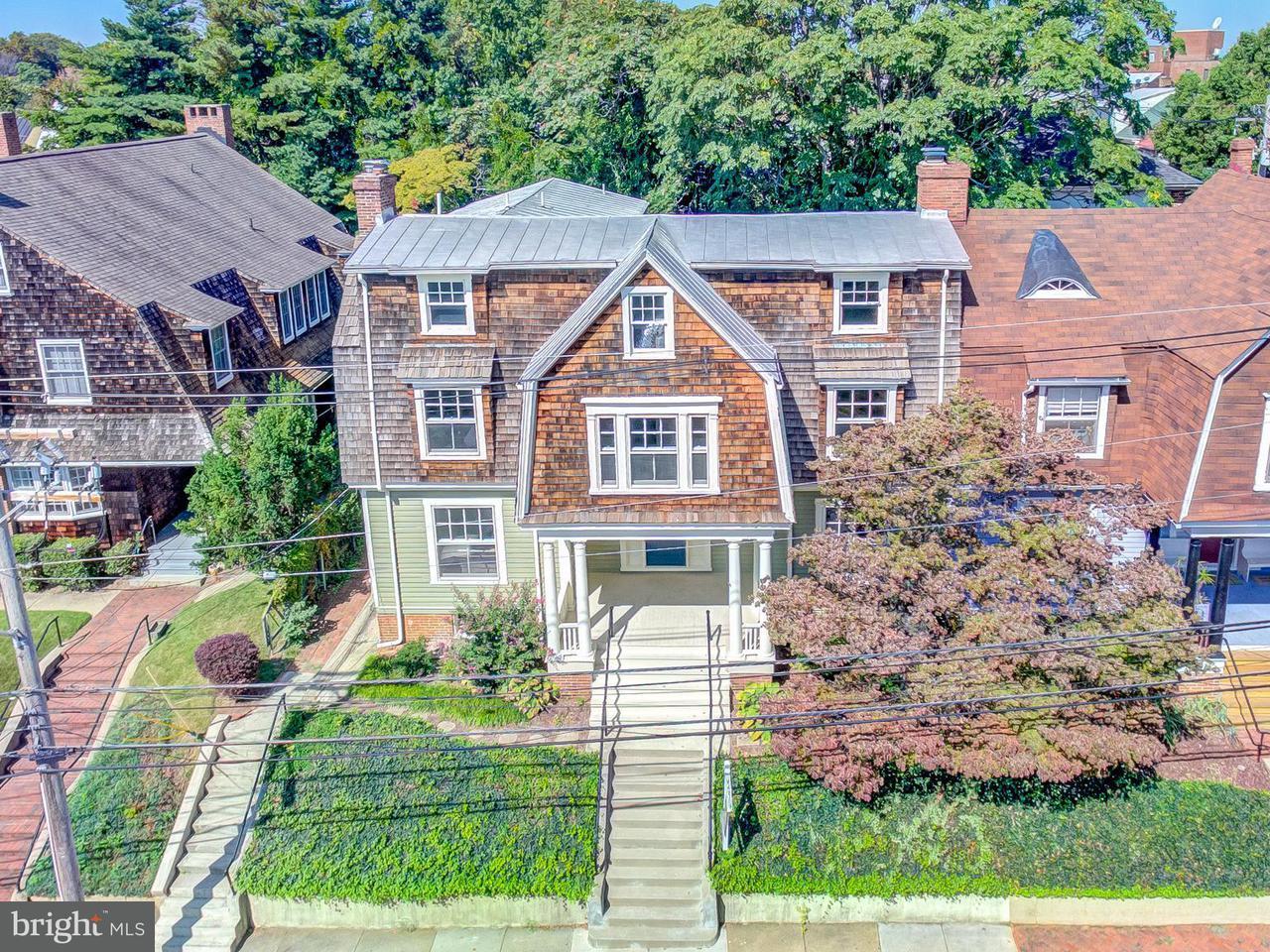 Casa unifamiliar adosada (Townhouse) por un Venta en 63 FRANKLIN Street 63 FRANKLIN Street Annapolis, Maryland 21401 Estados Unidos