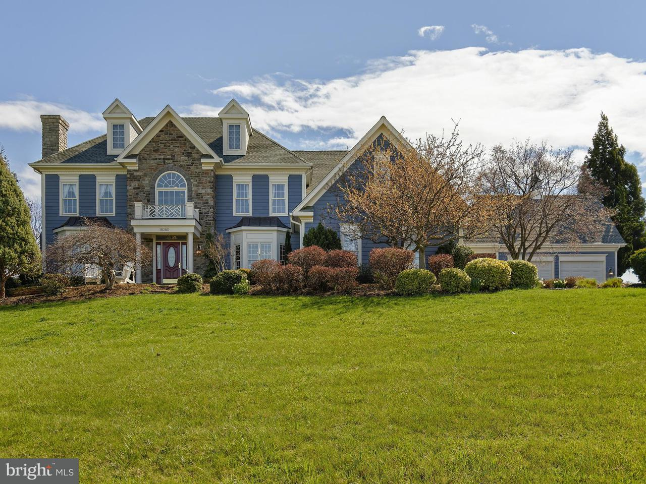Single Family Home for Sale at 16080 GOLD CUP Lane 16080 GOLD CUP Lane Paeonian Springs, Virginia 20129 United States