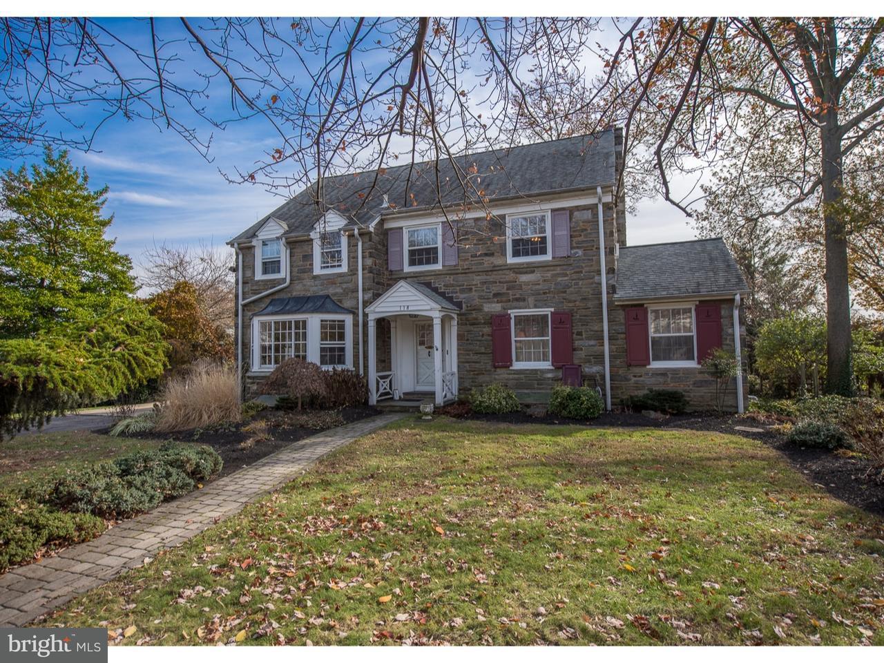 Частный односемейный дом для того Продажа на 118 SUMMIT Lane Bala Cynwyd, Пенсильвания 19004 Соединенные Штаты