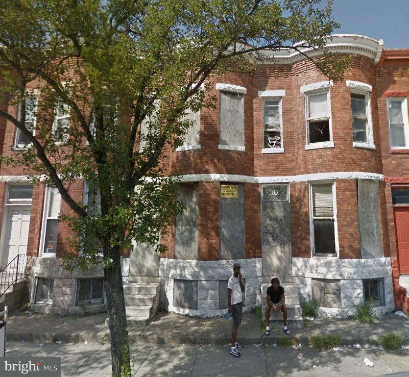 Single Family for Sale at 1912 Monroe St N Baltimore, Maryland 21217 United States