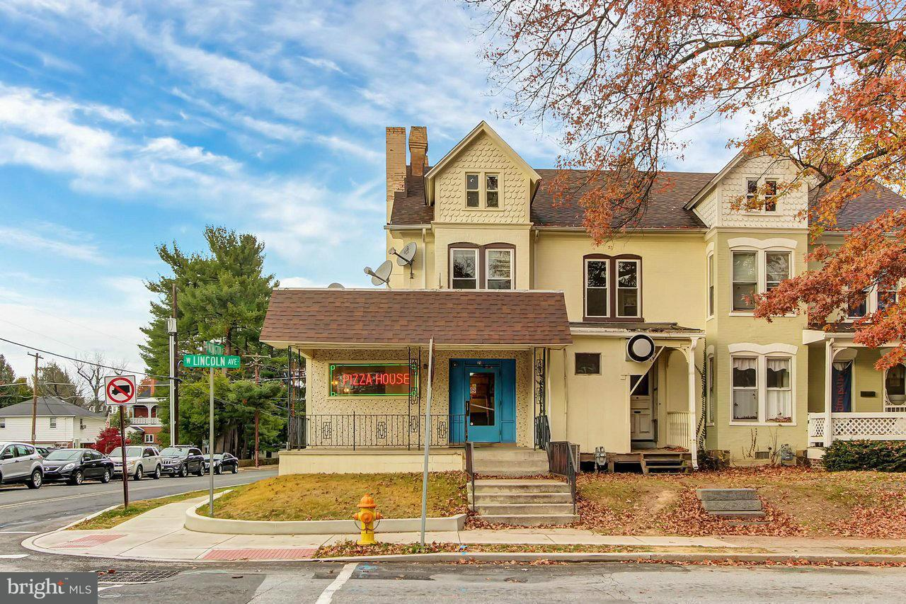 Commercial for Sale at 71 LINCOLN AVE W 71 LINCOLN AVE W Gettysburg, Pennsylvania 17325 United States