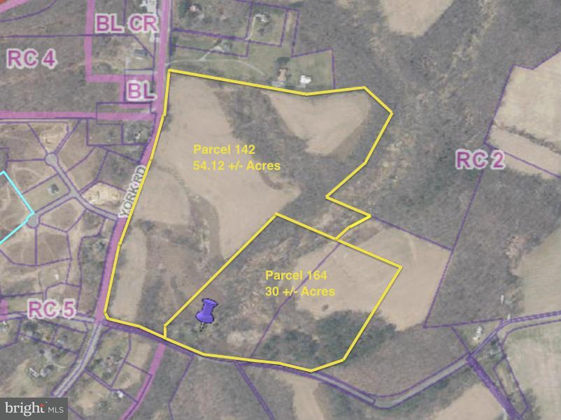 土地,用地 为 销售 在 YORK Road YORK Road Parkton, 马里兰州 21120 美国