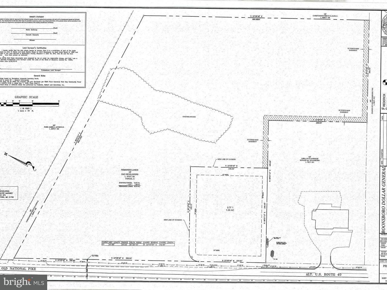 Additional photo for property listing at OLD NATIONAL PIKE OLD NATIONAL PIKE Boonsboro, Maryland 21713 Estados Unidos