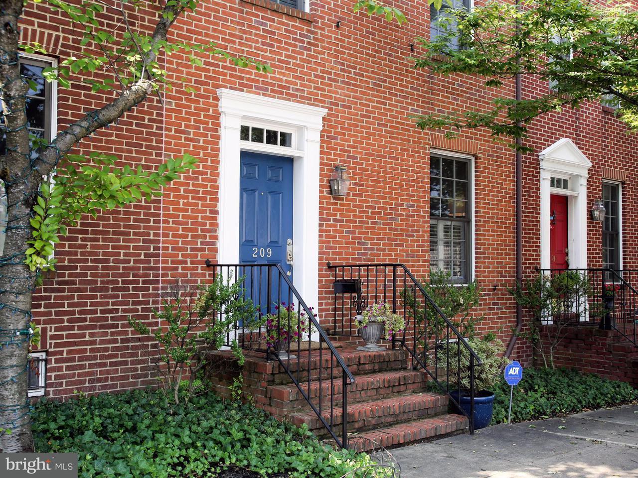 Herenhuis voor Verkoop een t 209 W. HILL Street 209 W. HILL Street Baltimore, Maryland 21230 Verenigde Staten