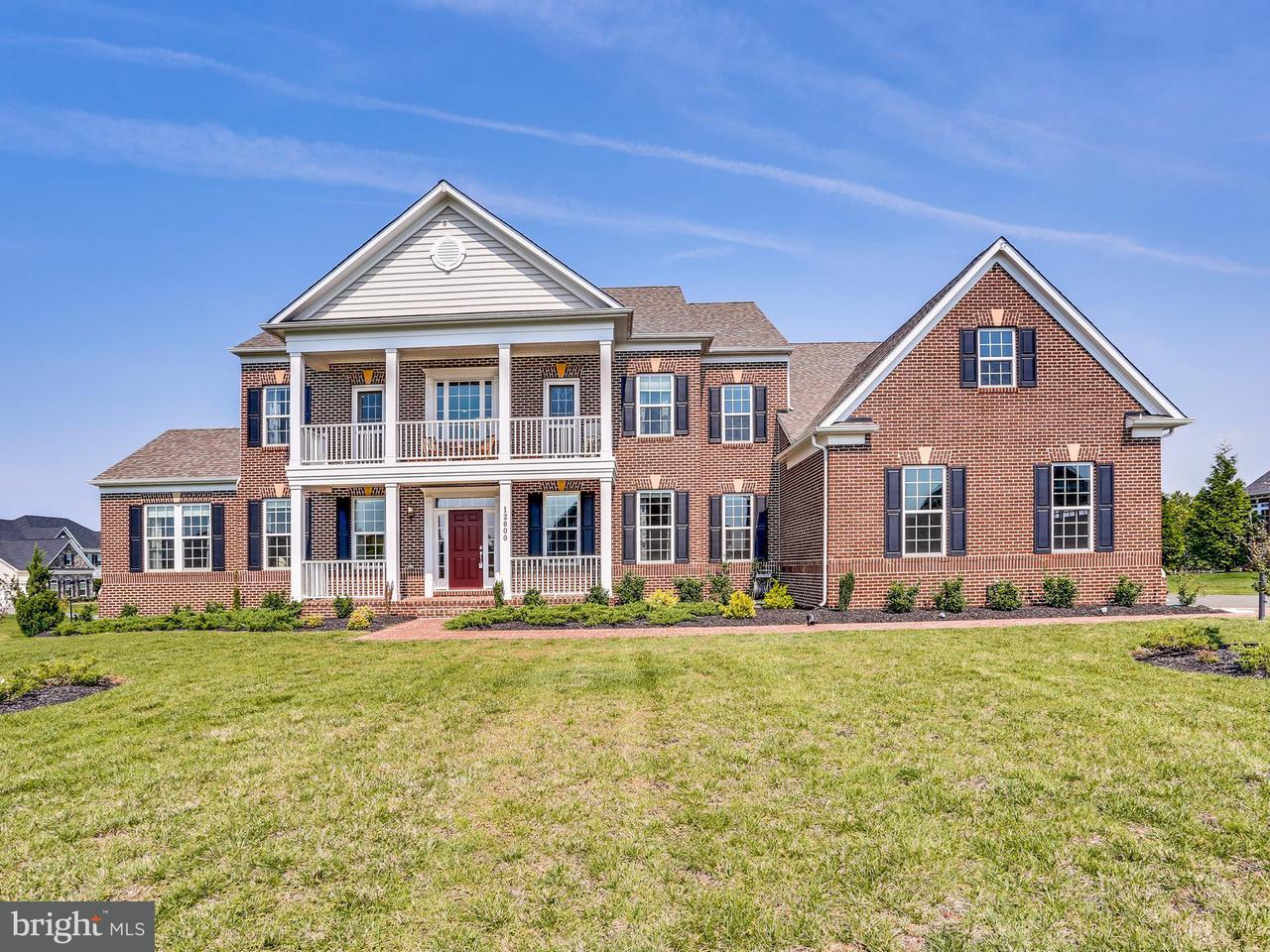 Single Family Home for Sale at 12800 GRISTMILL Lane 12800 GRISTMILL Lane Bowie, Maryland 20721 United States