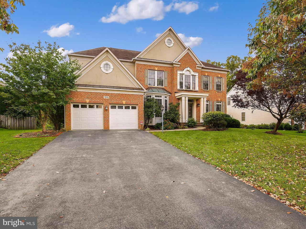 Casa Unifamiliar por un Venta en 7205 HATTERBY Court 7205 HATTERBY Court Elkridge, Maryland 21075 Estados Unidos