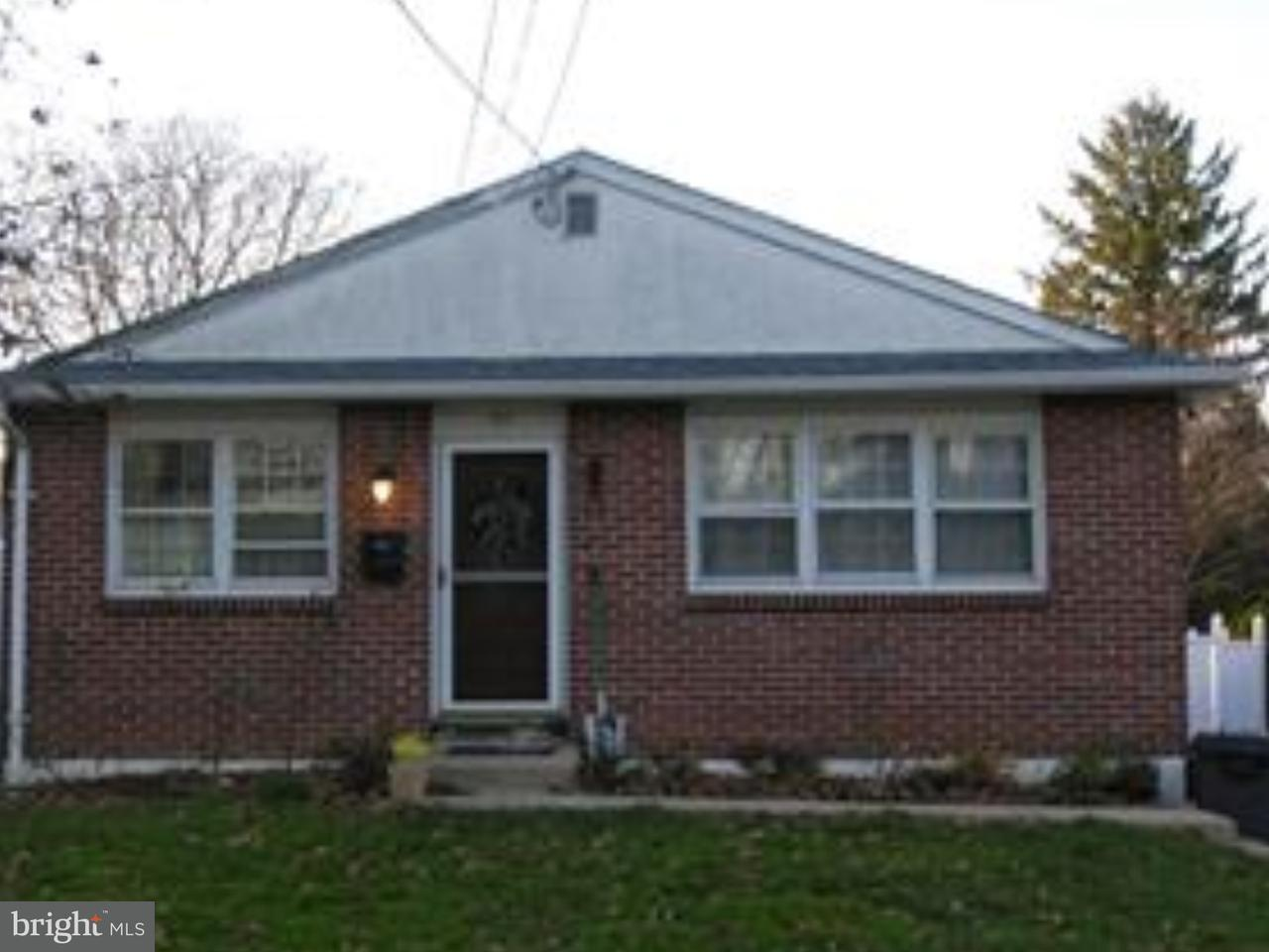 Single Family Home for Rent at 310 GILPIN Road Willow Grove, Pennsylvania 19090 United States