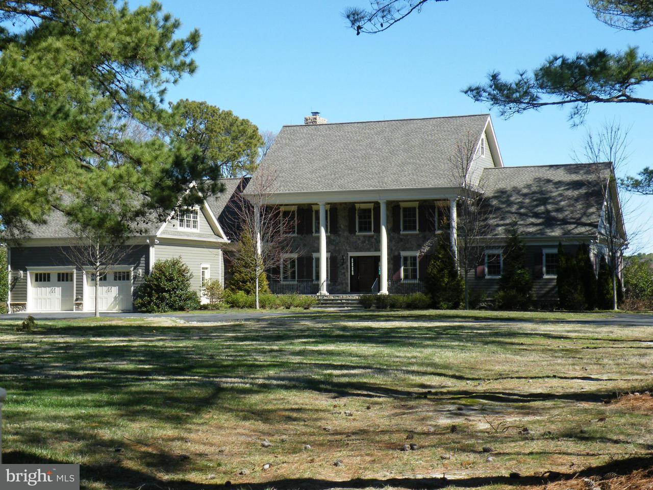 独户住宅 为 销售 在 26040 GOOSE NECK Road 26040 GOOSE NECK Road Royal Oak, 马里兰州 21662 美国