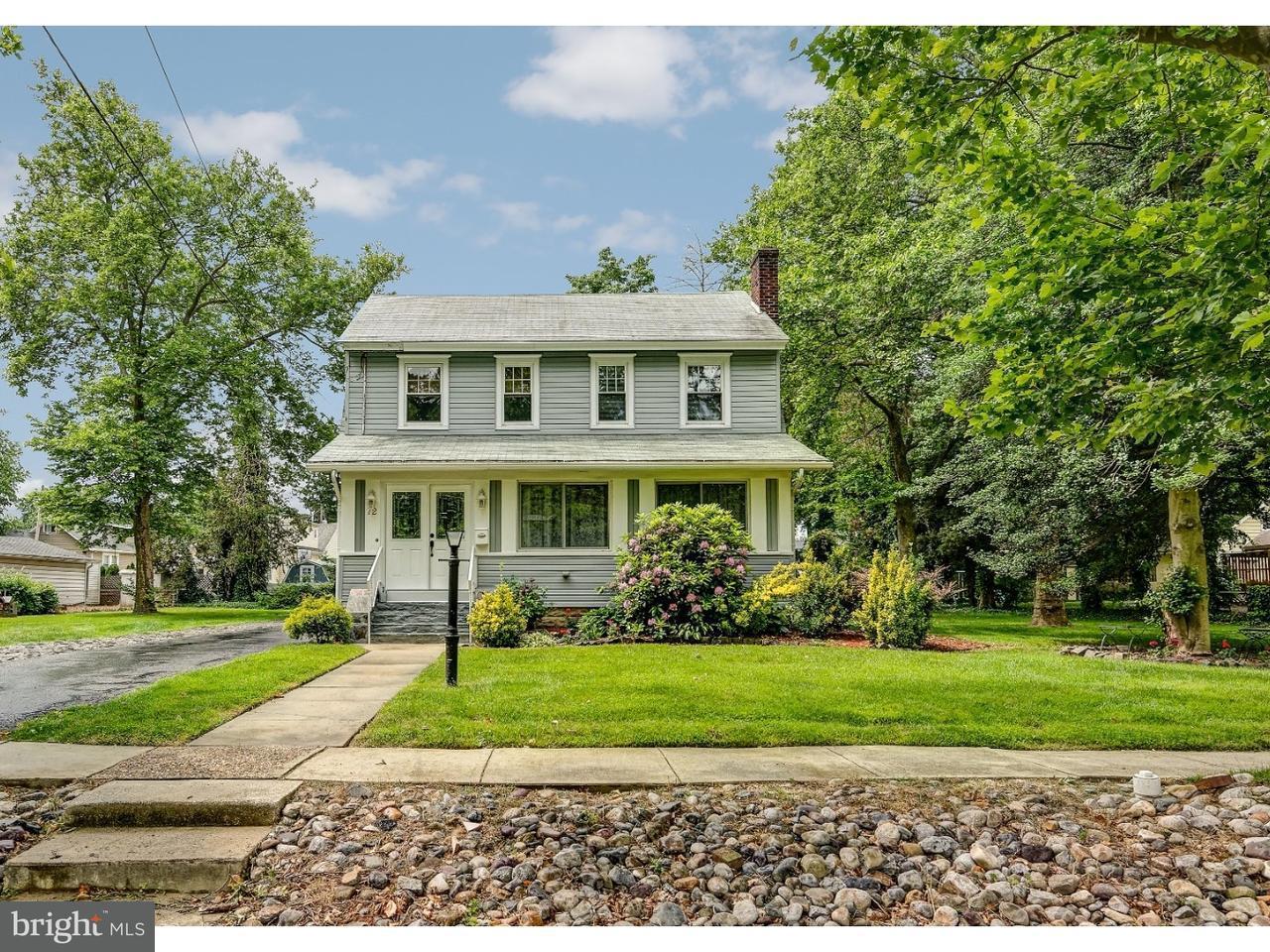 独户住宅 为 销售 在 72 KENDALL BLVD Oaklyn, 新泽西州 08107 美国