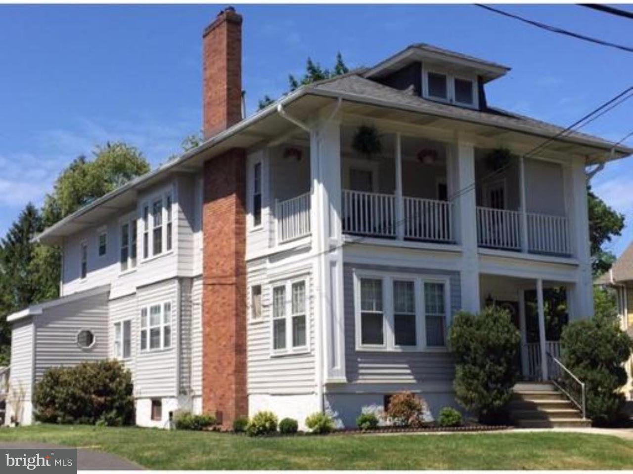 триплекс для того Аренда на 102 7TH AVE #3 Haddon Heights, Нью-Джерси 08035 Соединенные Штаты
