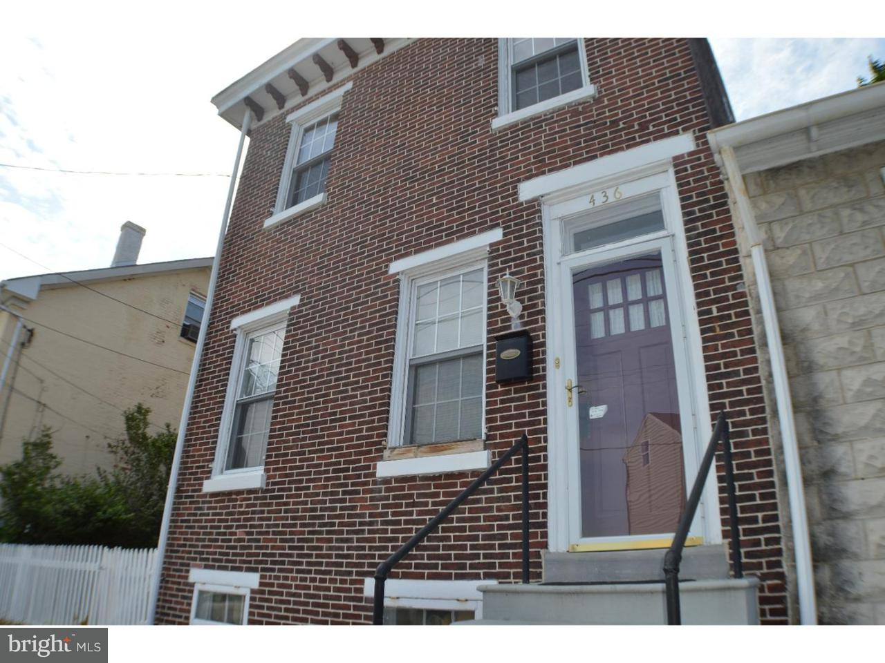 Single Family Home for Rent at 436 FORD Street Bridgeport, Pennsylvania 19405 United States