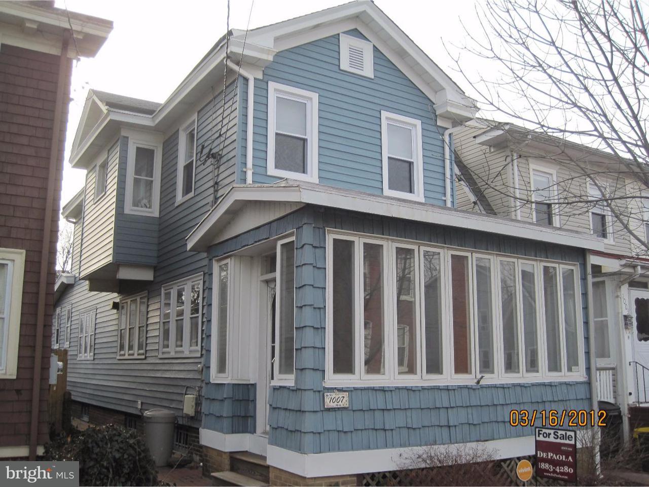 Single Family Home for Rent at 1007 MELROSE Avenue Trenton, New Jersey 08629 United StatesMunicipality: Trenton City