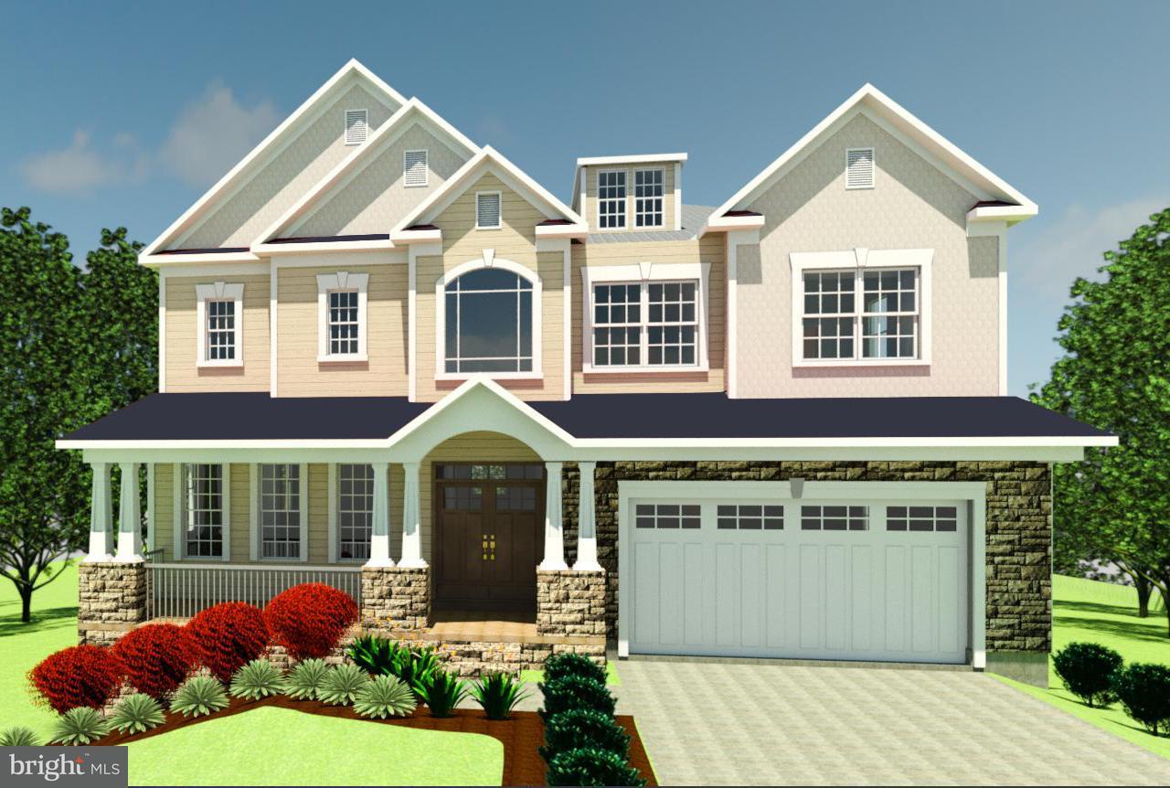 Частный односемейный дом для того Продажа на 2312 WESTMORELAND Street 2312 WESTMORELAND Street Falls Church, Виргиния 22046 Соединенные Штаты