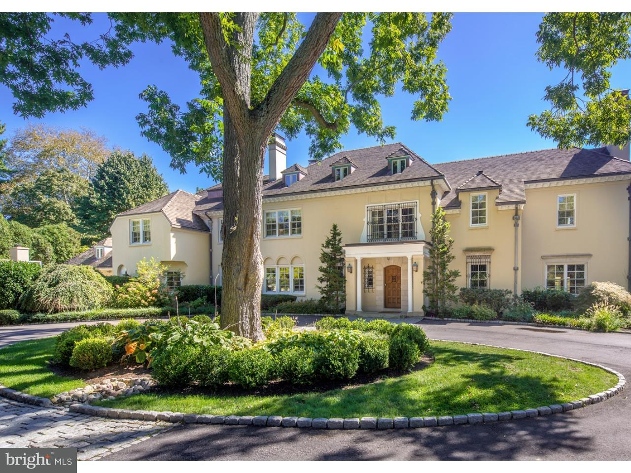 Maison unifamiliale pour l Vente à 1301 LAFAYETTE Road Gladwyne, Pennsylvanie 19035 États-Unis
