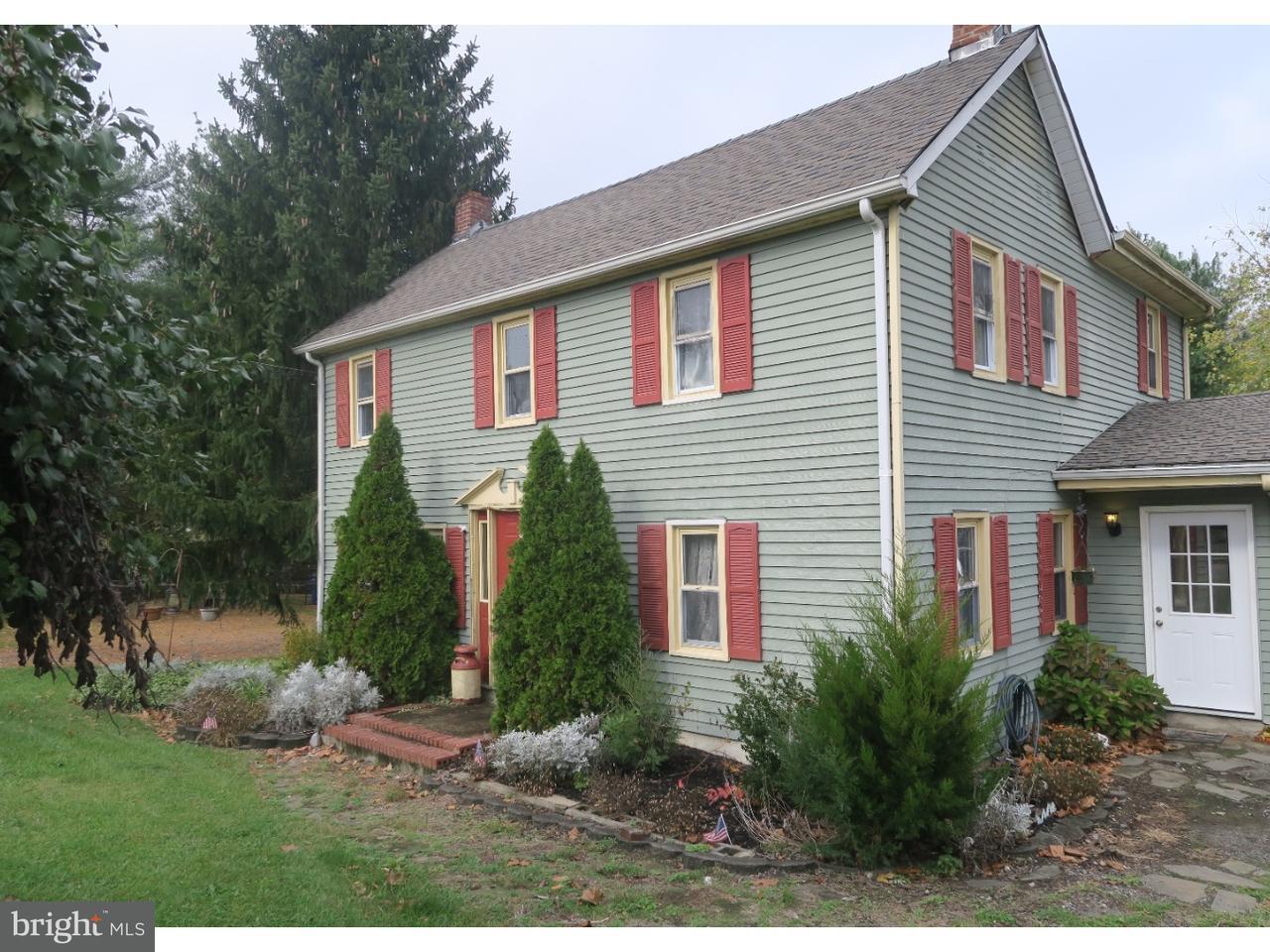 Maison unifamiliale pour l Vente à 6 BUNTING BRIDGE Road Cookstown, New Jersey 08511 États-Unis
