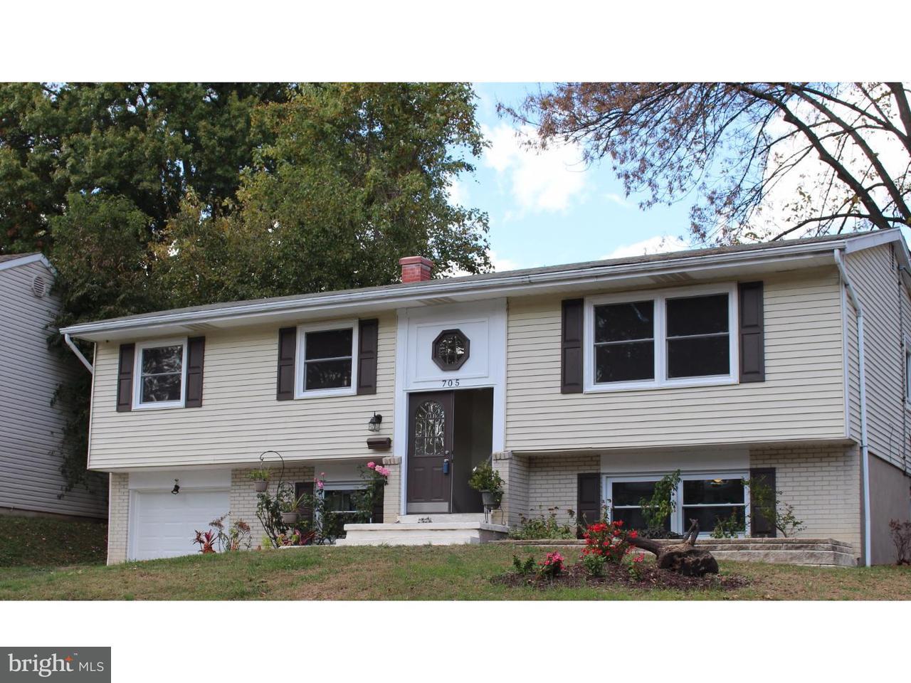 Частный односемейный дом для того Продажа на 705 PARKSIDE BLVD Claymont, Делавэр 19703 Соединенные Штаты