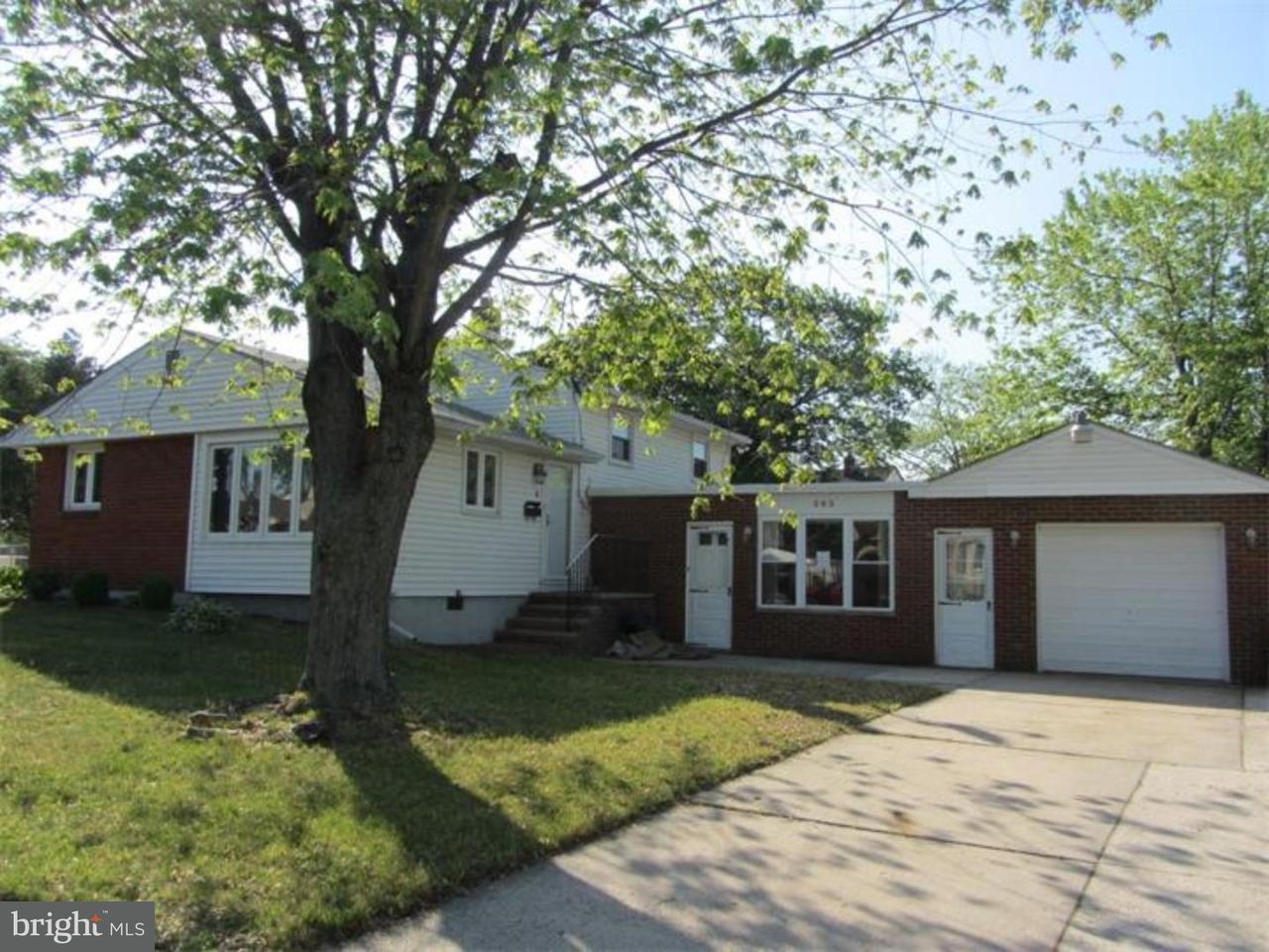 Частный односемейный дом для того Продажа на 283 BUCHANAN Avenue Bellmawr, Нью-Джерси 08031 Соединенные Штаты