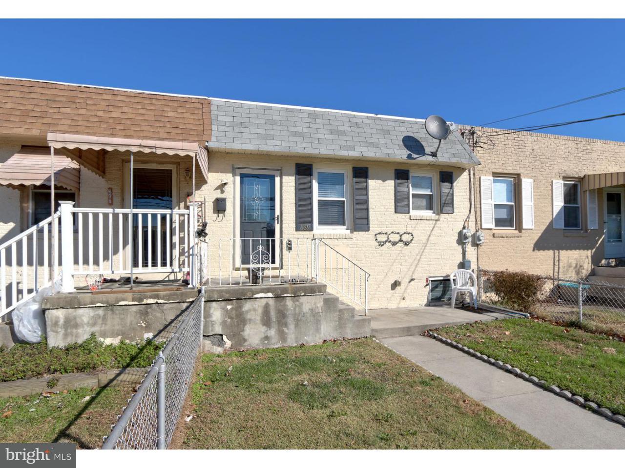Таунхаус для того Аренда на 869 W BROWNING Road Bellmawr, Нью-Джерси 08031 Соединенные Штаты