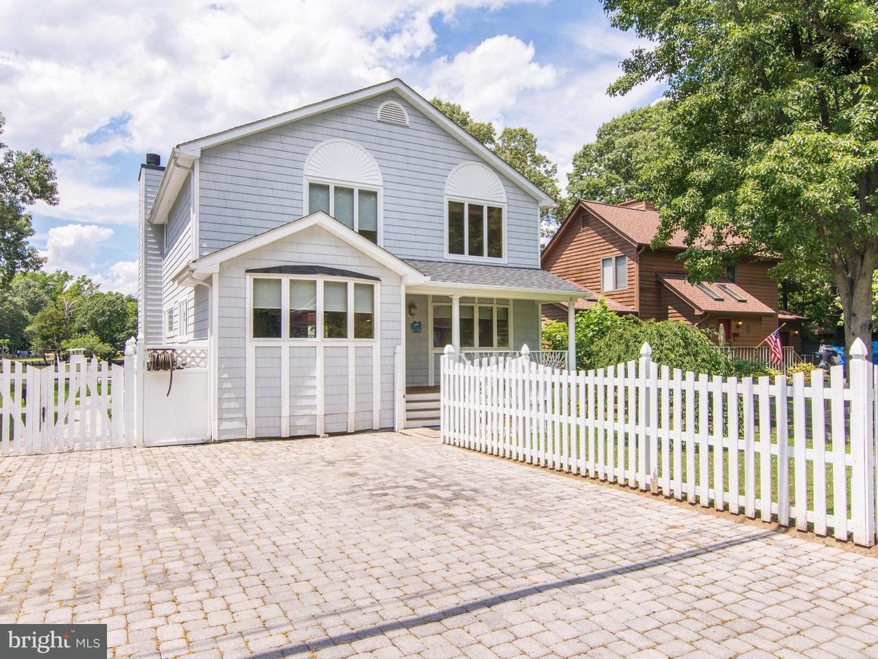 Casa Unifamiliar por un Venta en 4962 LERCH Drive 4962 LERCH Drive Shady Side, Maryland 20764 Estados Unidos