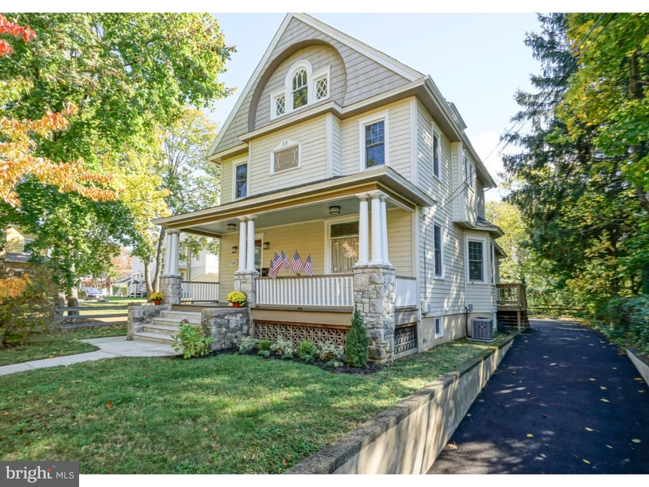 Casa Unifamiliar por un Venta en 706 GREEN Street Haddon Heights, Nueva Jersey 08035 Estados Unidos