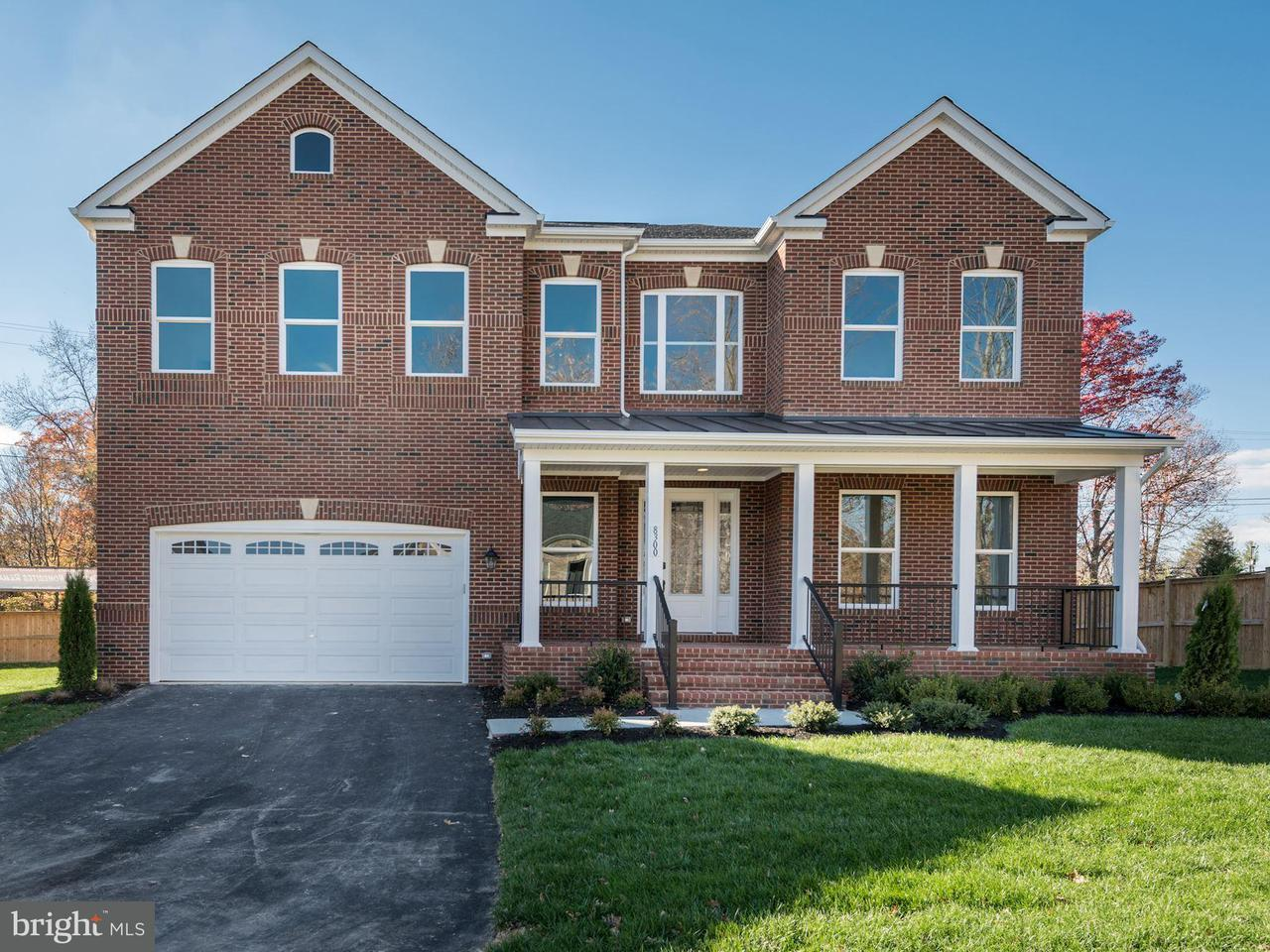 Single Family Home for Sale at 8300 SWOPE Court 8300 SWOPE Court Springfield, Virginia 22153 United States