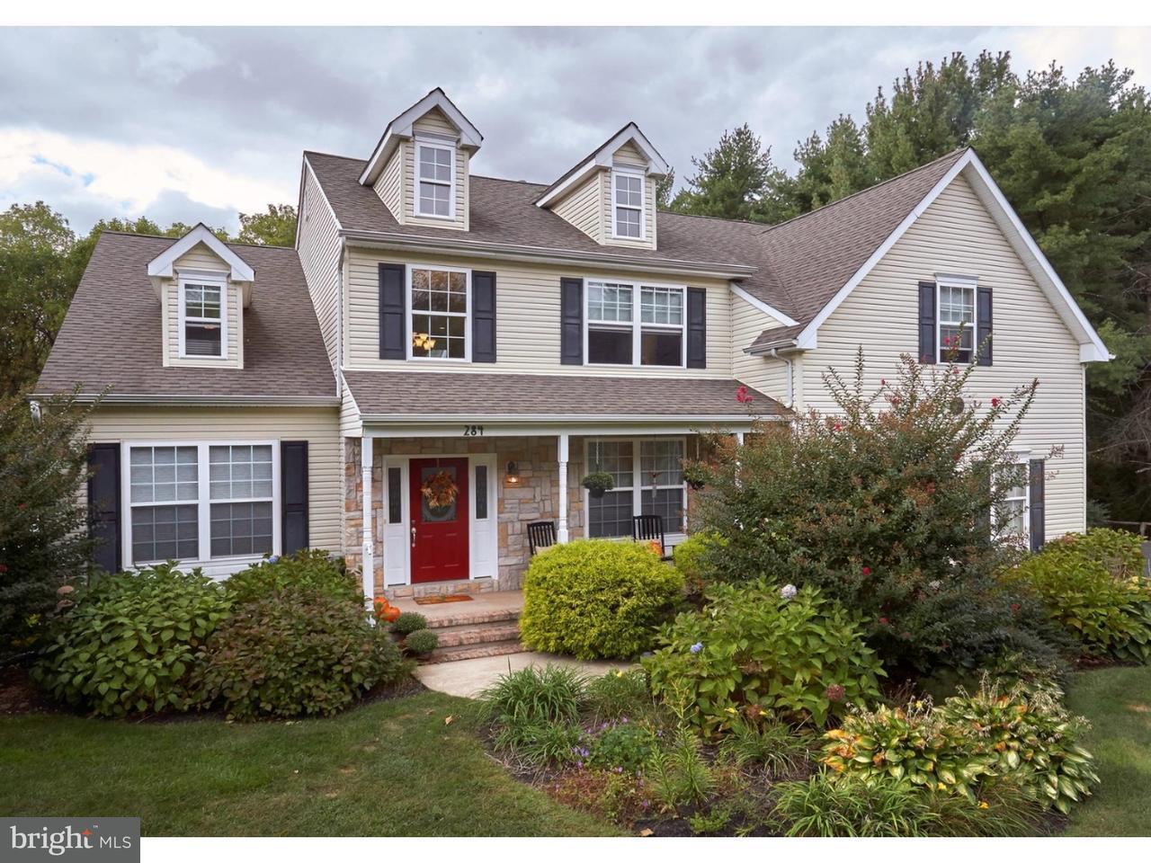 Casa Unifamiliar por un Venta en 284 SYKESVILLE Road Chesterfield, Nueva Jersey 08515 Estados UnidosEn/Alrededor: Chesterfield Township