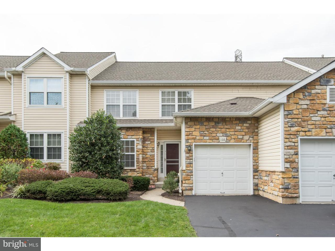 Townhouse for Rent at 108 SHOAL CREEK Drive Blue Bell, Pennsylvania 19422 United States