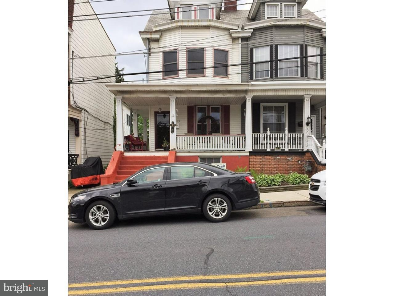 Townhouse for Sale at 1743 W MARKET Street Pottsville, Pennsylvania 17901 United States