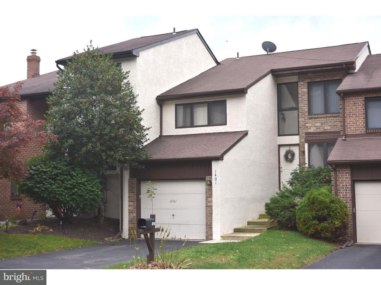 Townhouse for Rent at 1401 MONROE Lane Ambler, Pennsylvania 19002 United States