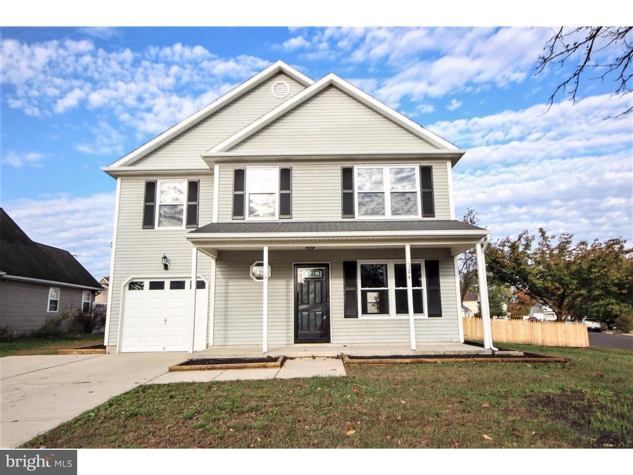 Maison unifamiliale pour l Vente à 324 HUNTERS Road Logan Township, New Jersey 08085 États-Unis
