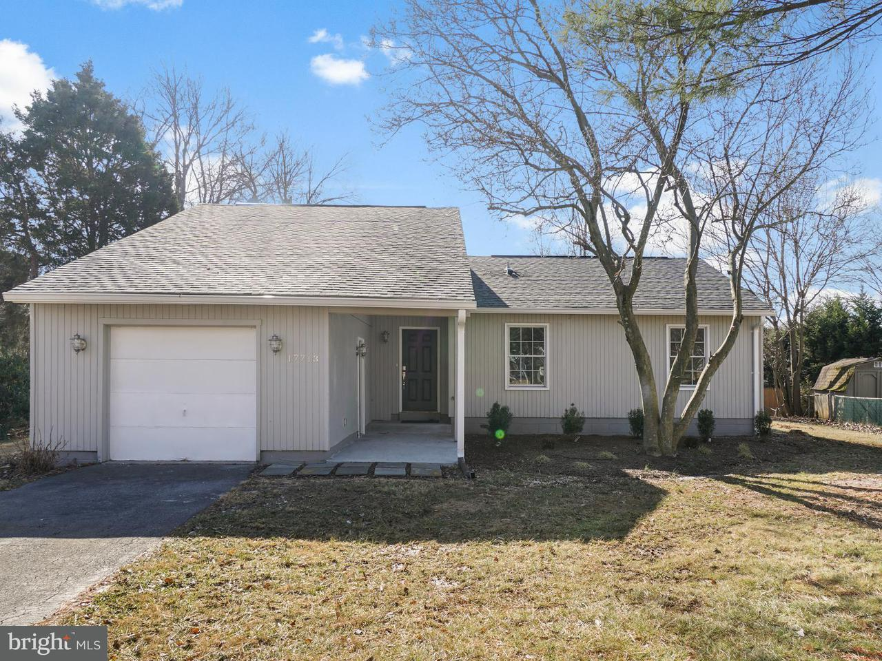 Single Family for Sale at 17713 Millcrest Dr Derwood, Maryland 20855 United States