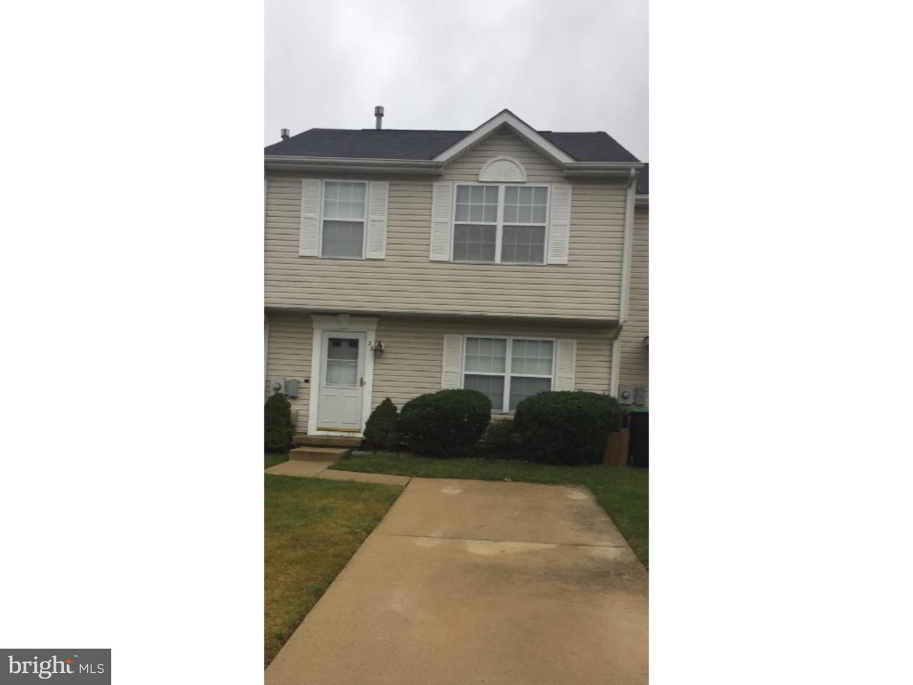 Casa unifamiliar adosada (Townhouse) por un Alquiler en 28 PARKTOWN Place Sicklerville, Nueva Jersey 08081 Estados Unidos