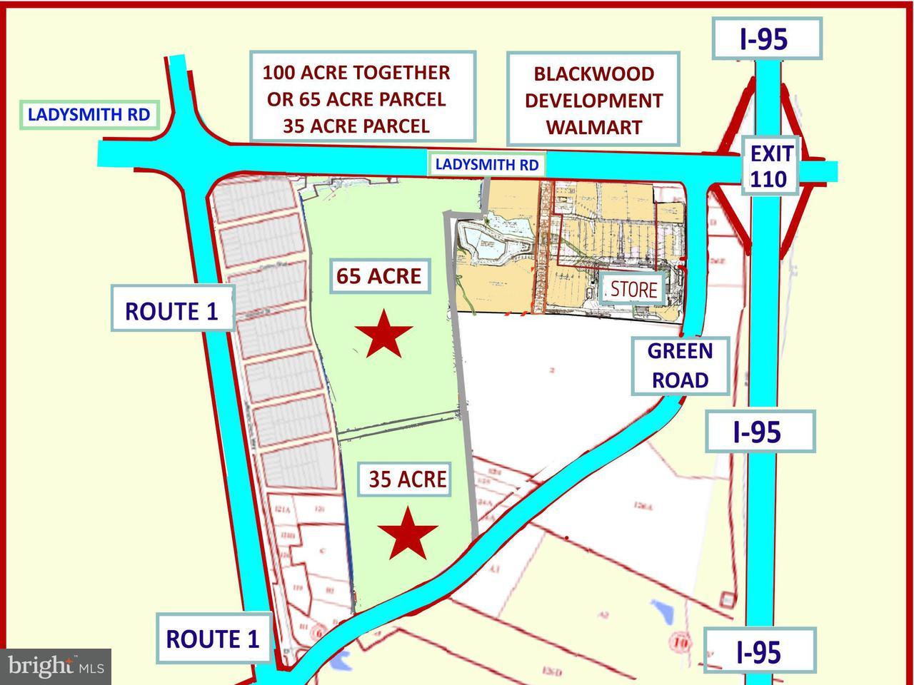 Οικόπεδο για την Πώληση στο GREEN Road GREEN Road Ruther Glen, Βιρτζινια 22546 Ηνωμενεσ Πολιτειεσ