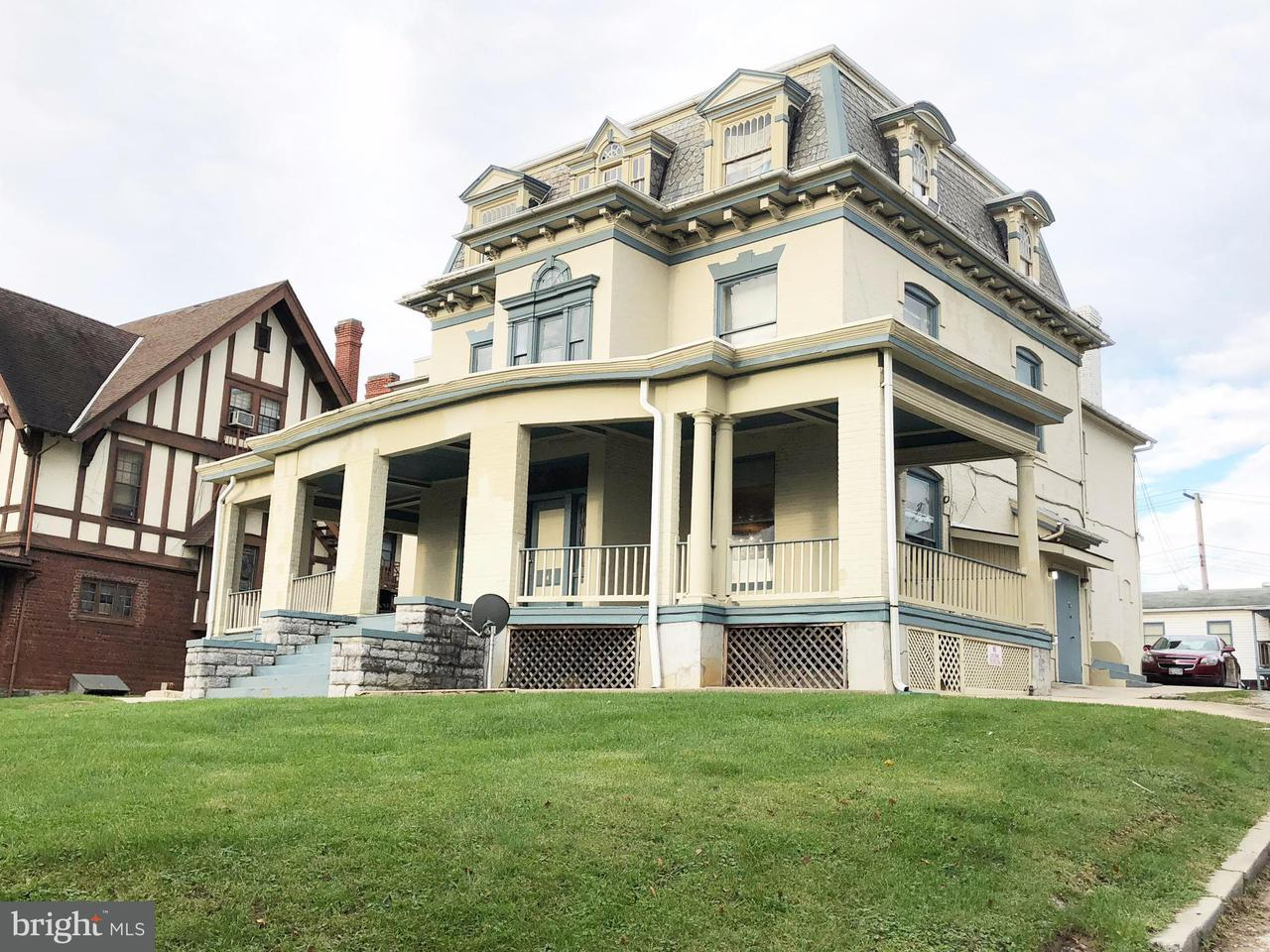 Casa Multifamiliar por un Venta en 645 OAK HILL Avenue 645 OAK HILL Avenue Hagerstown, Maryland 21740 Estados Unidos