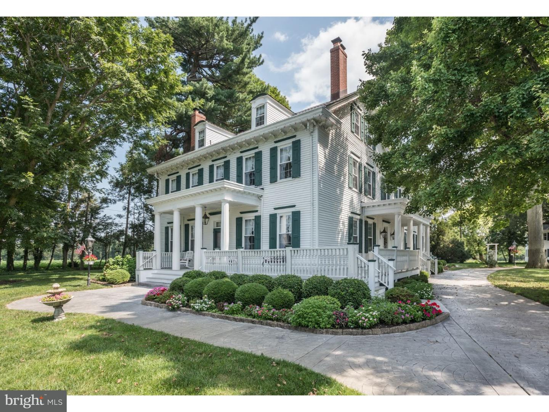 Maison unifamiliale pour l Vente à 50-52 EAYRESTOWN Road Medford, New Jersey 08055 États-Unis