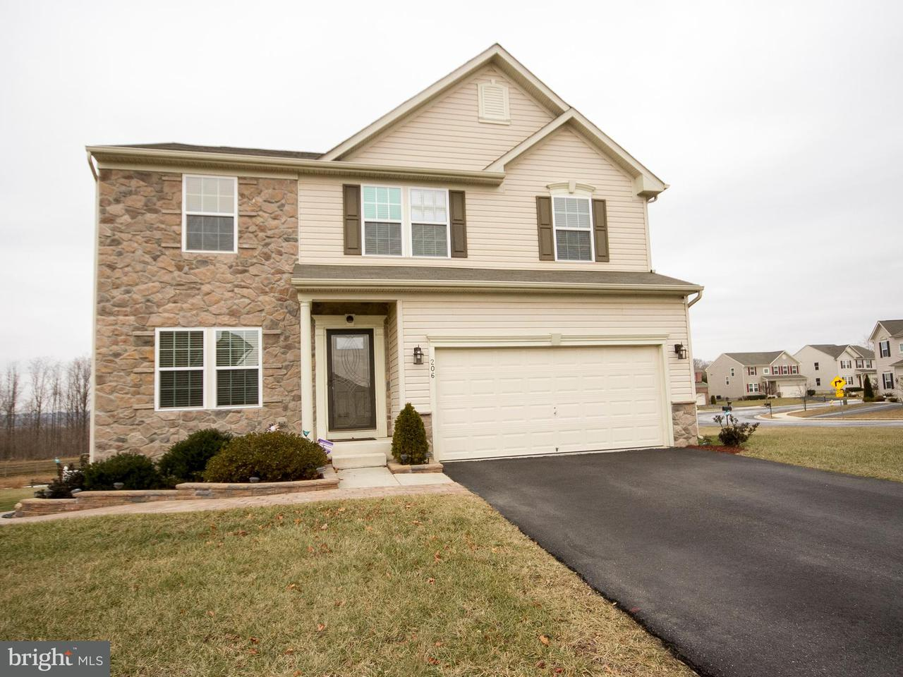 Single Family Home for Sale at 206 CHIMNEY OAK Drive 206 CHIMNEY OAK Drive Joppa, Maryland 21085 United States