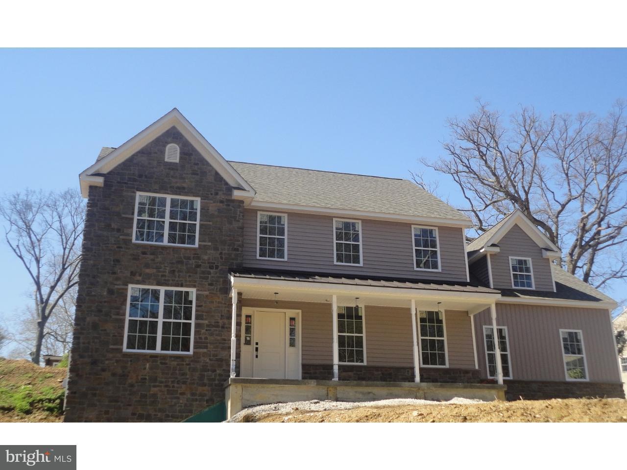 Частный односемейный дом для того Продажа на Lot 4 BULLENS Lane Wallingford, Пенсильвания 19086 Соединенные Штаты