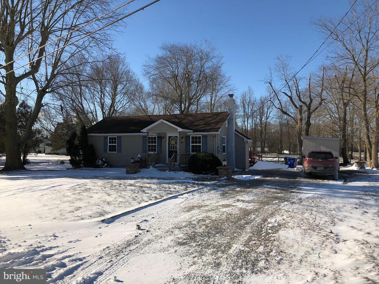 Maison unifamiliale pour l Vente à 80 HAGERSVILLE Road Elsinboro Township, New Jersey 08079 États-Unis