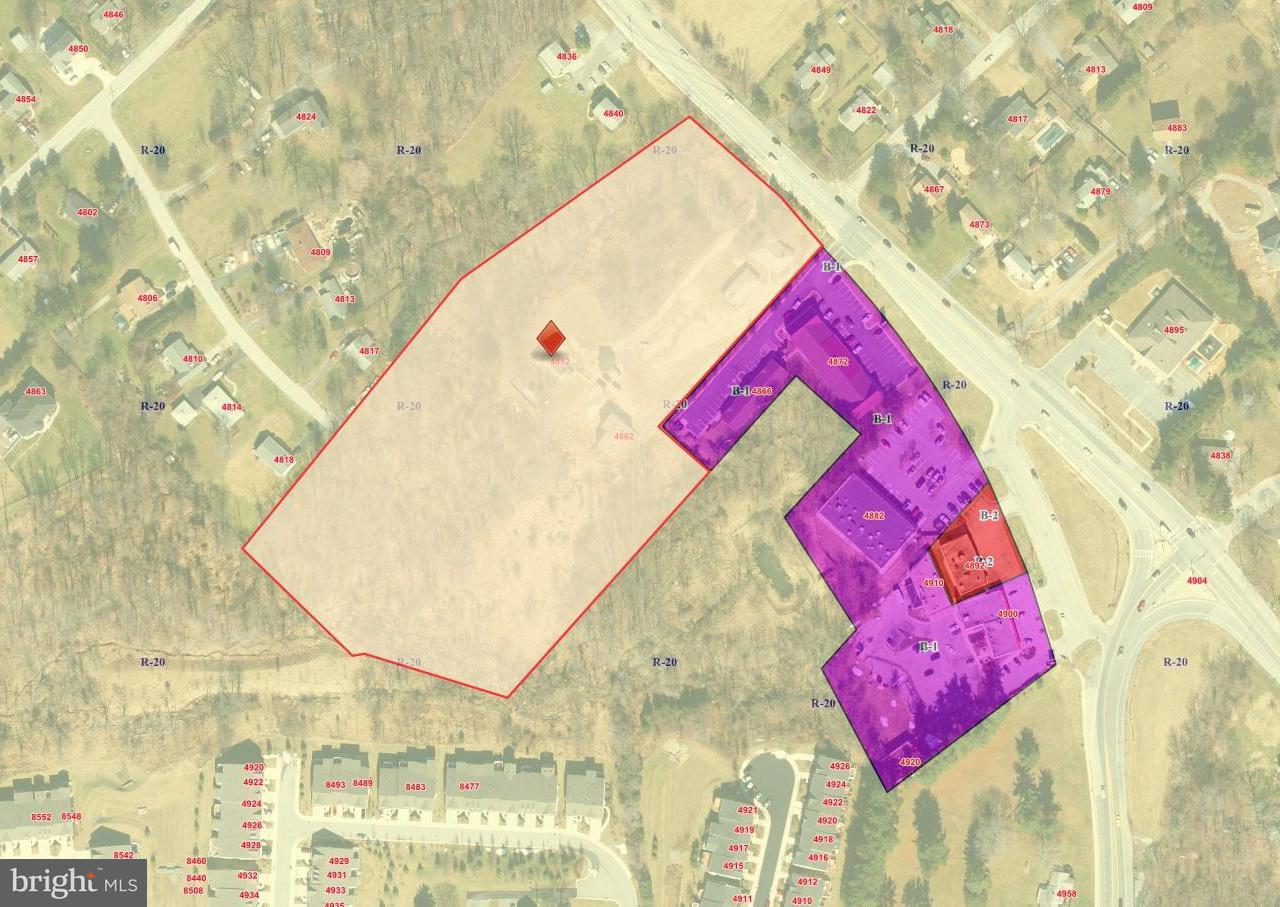 Land voor Verkoop een t 4852 MONTGOMERY Road 4852 MONTGOMERY Road Ellicott City, Maryland 21043 Verenigde Staten