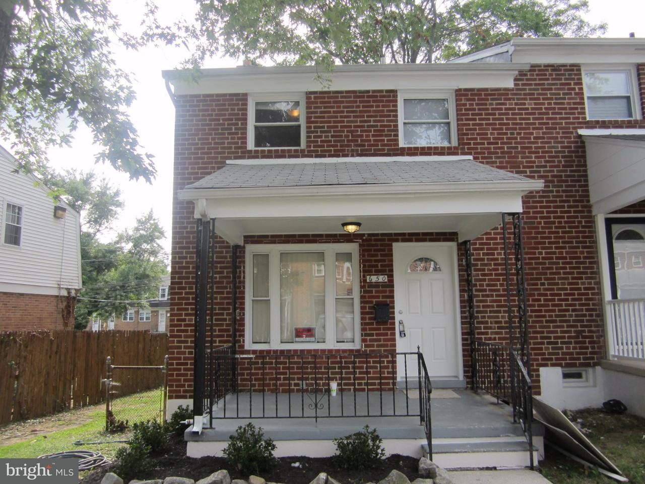 Single Family for Sale at 650 Brisbane Rd Baltimore, Maryland 21229 United States