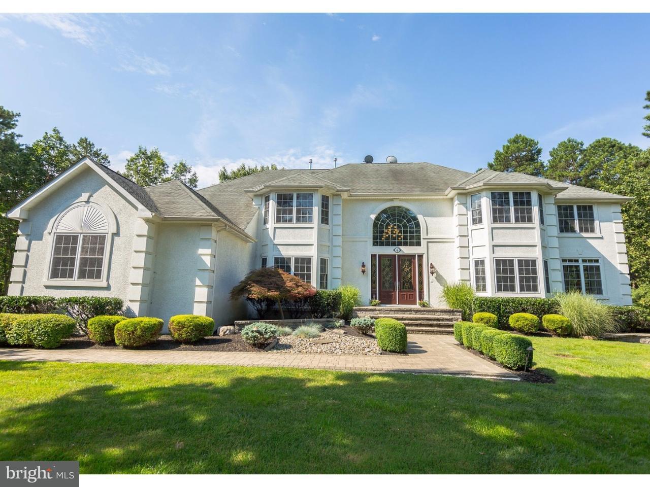 Частный односемейный дом для того Продажа на 4 HANLEY PARKE Medford, Нью-Джерси 08055 Соединенные Штаты