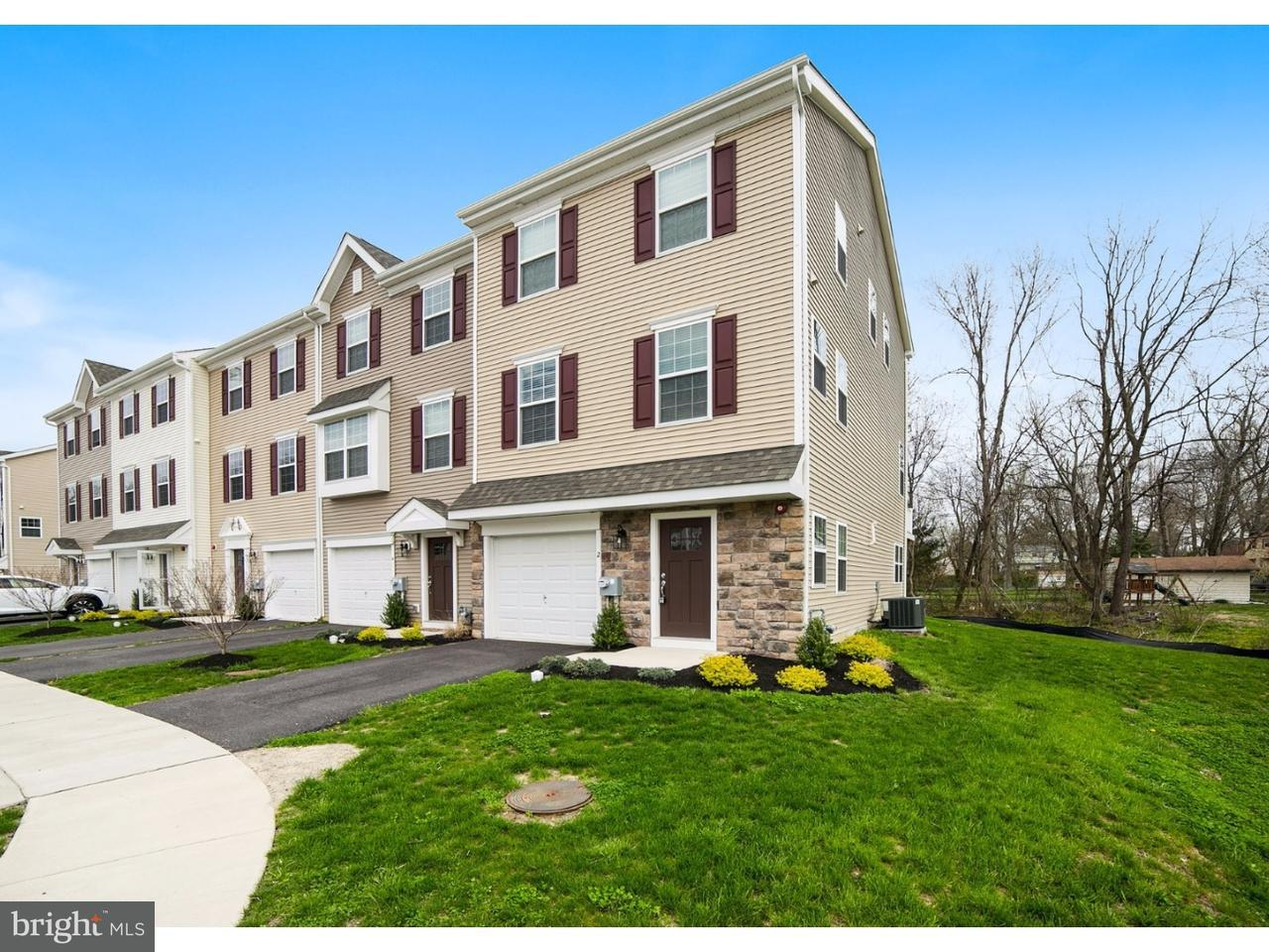 Townhouse for Sale at 2 FARADAY Court Morton, Pennsylvania 19070 United States
