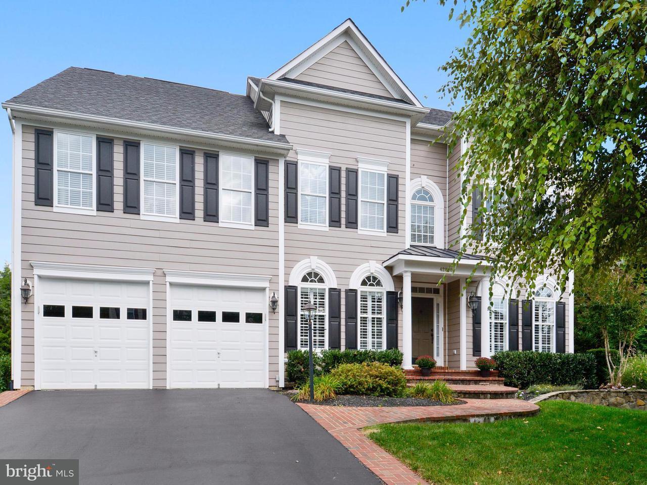Single Family Home for Sale at 42870 GLYNDEBOURNE Court 42870 GLYNDEBOURNE Court Broadlands, Virginia 20148 United States